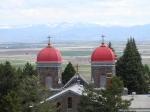 Monastery Towers overlook Prairie