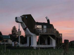 June sunset at Dog Bark Park