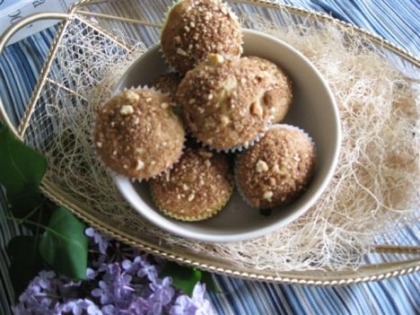 Rhubarb Brown Sugar Muffins