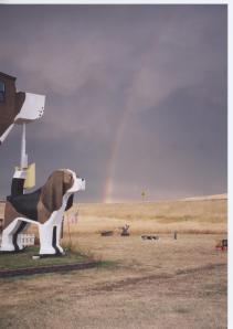 August Rainbow over Dog Bark Park