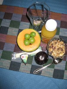 Prairie's Best Fruited Granola & other breakast selections
