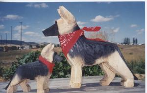 German Shepherd Art